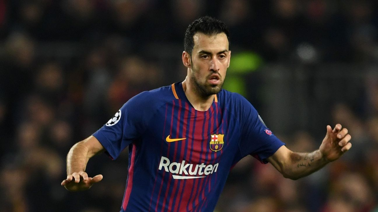 Barcelona's Sergio Busquets 'best in the world' in his position - Ernesto Valverde