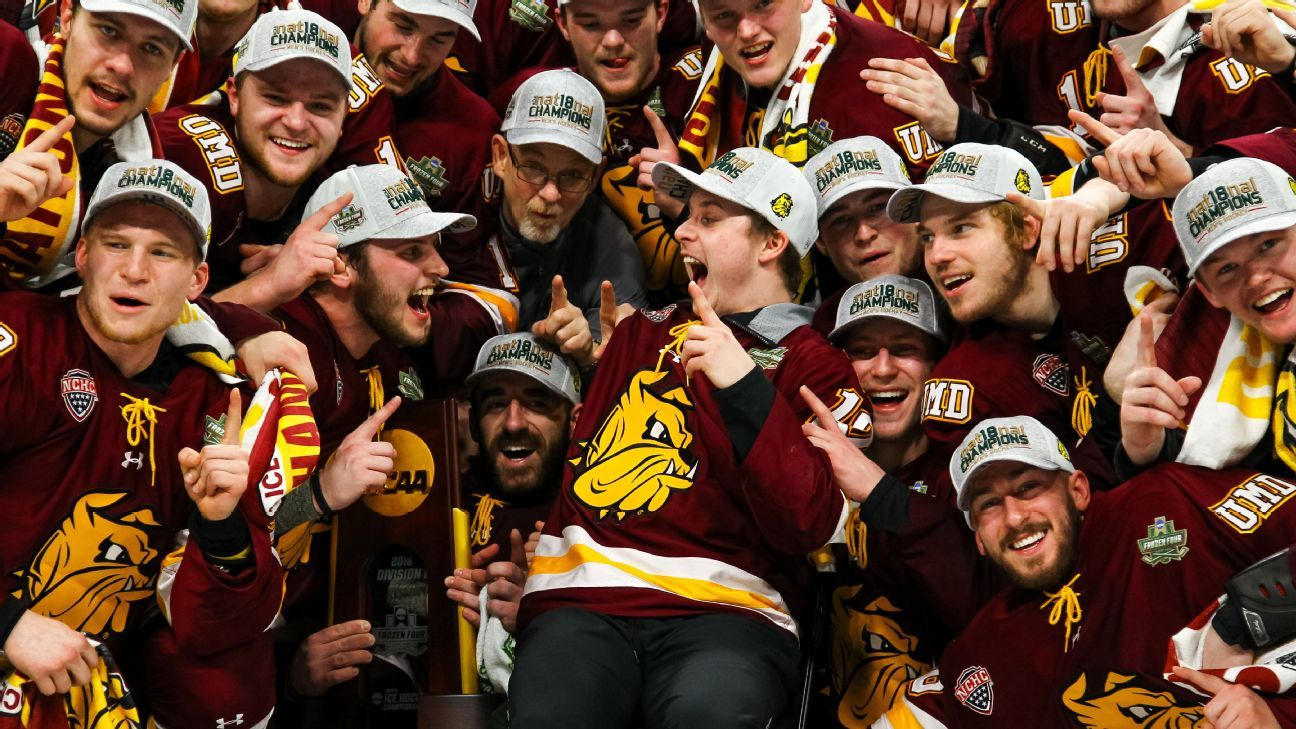 Minnesota Duluth gets redemption with NCAA hockey title