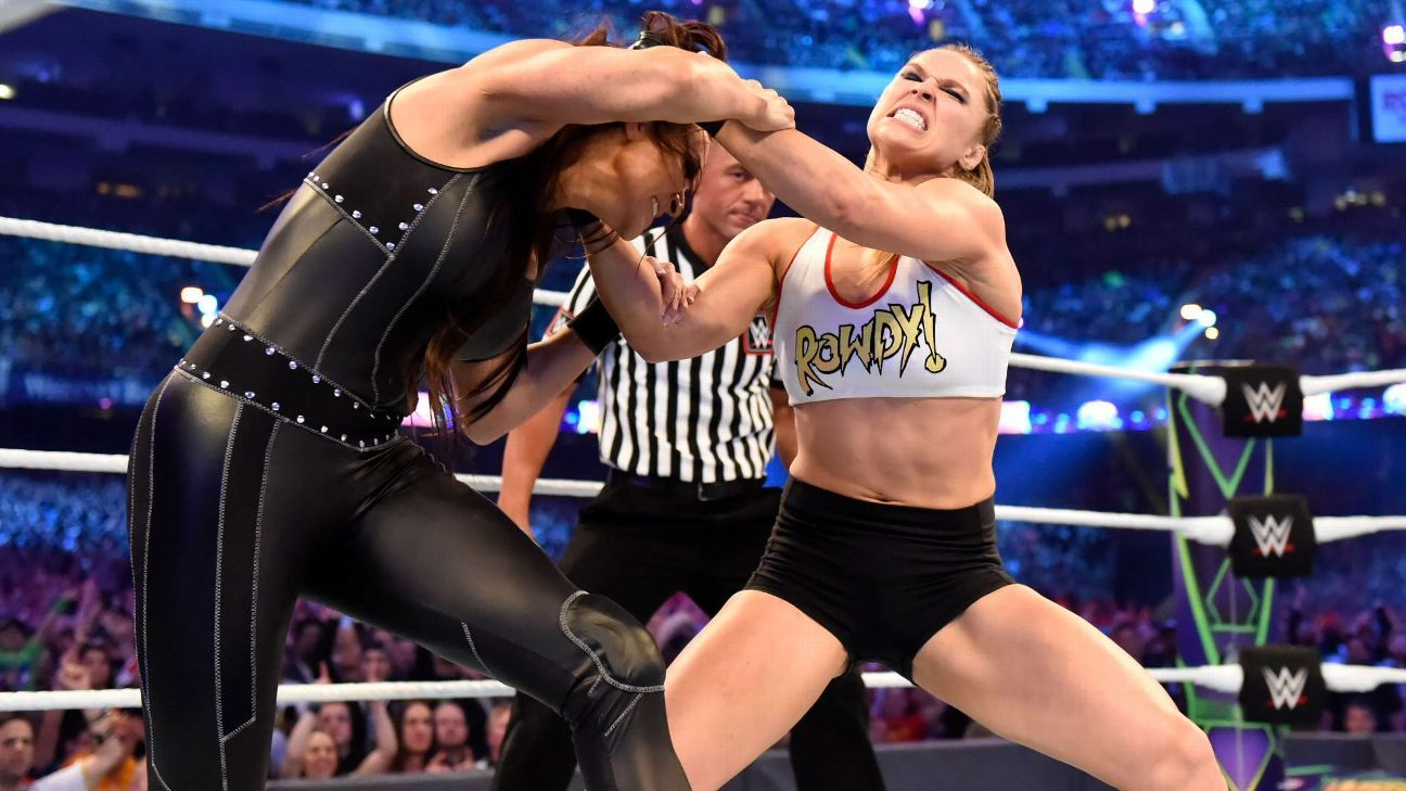 WWE - Ronda Rousey happy to have lost last two fights because that's what brought her to WWE