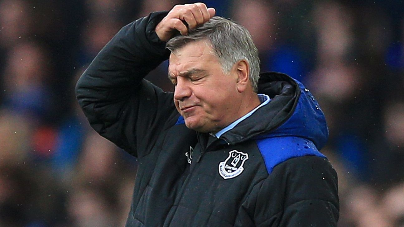 Allardyce, Moyes doomed by mid-table clubs' ambition