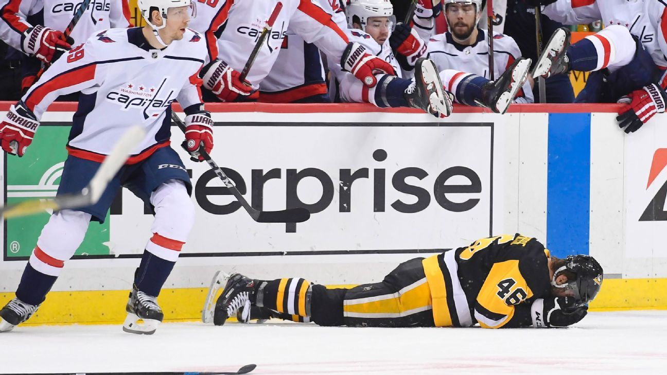 NHL suspends Washington Capitals' Tom Wilson three games for check on Zach Aston-Reese