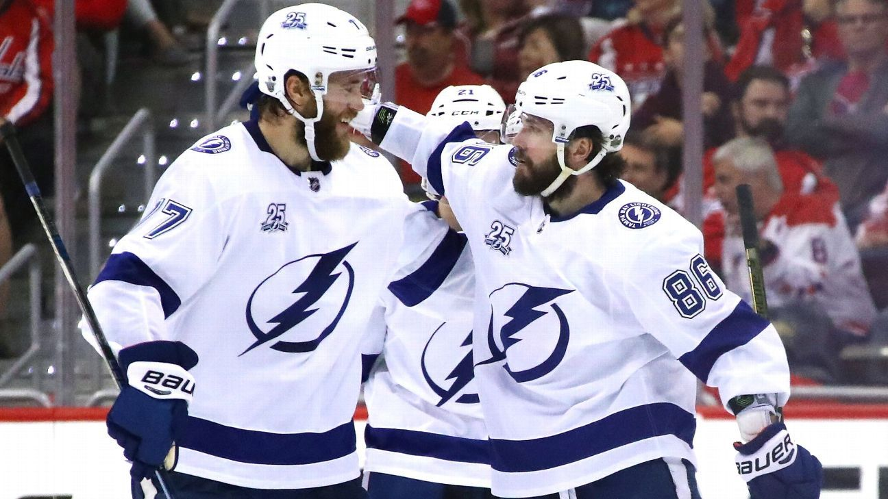 Lightning get back on track after Game 3 win