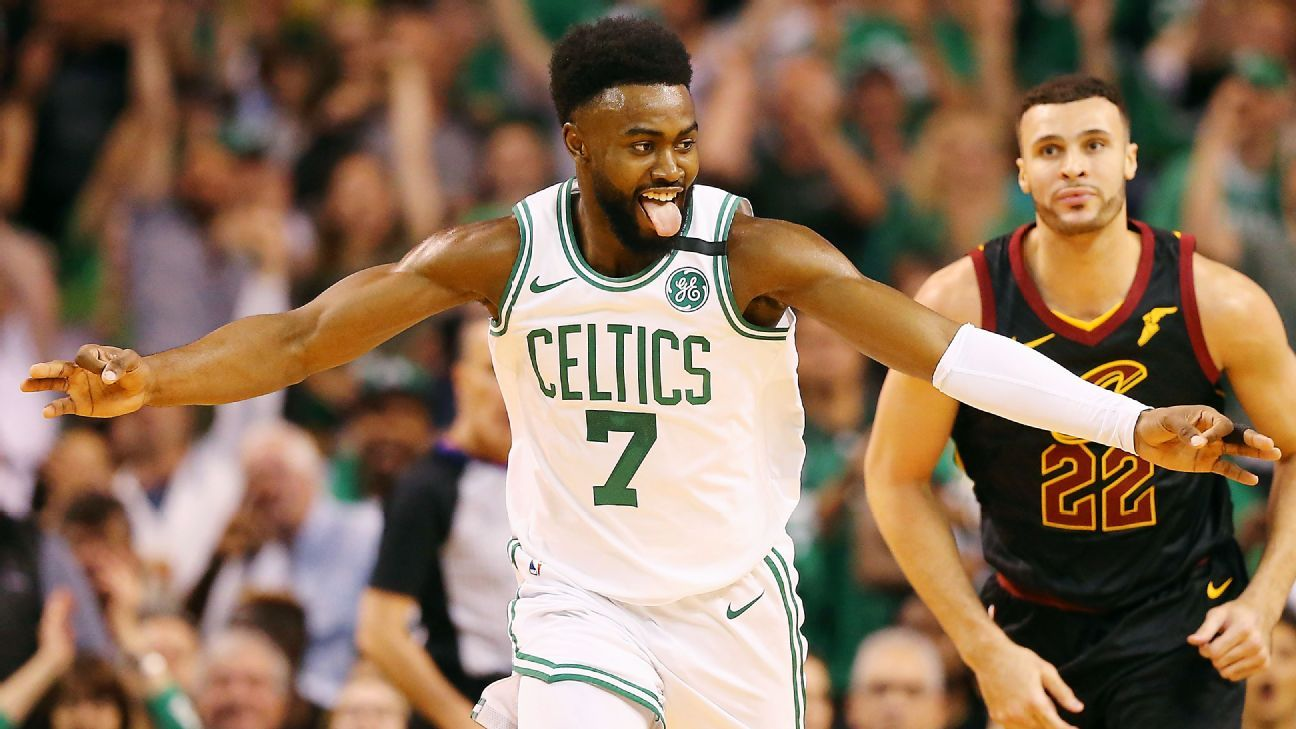 Jaylen Brown confident Boston Celtics will reach NBA Finals in 2019 'No question'