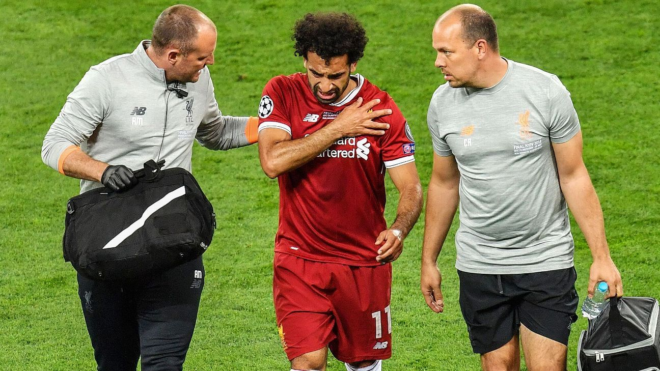 Liverpool's Mohamed Salah 'confident' of playing in World Cup