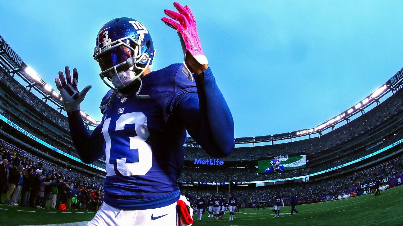 Odell Beckham Jr. contract questions - Will New York ...