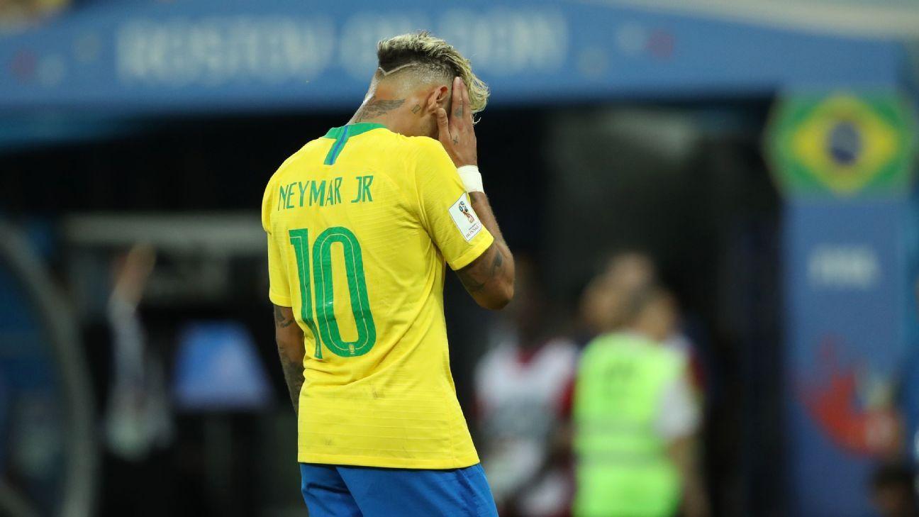 Neymar Sparks Injury Concerns After Brief Return To Brazil Training