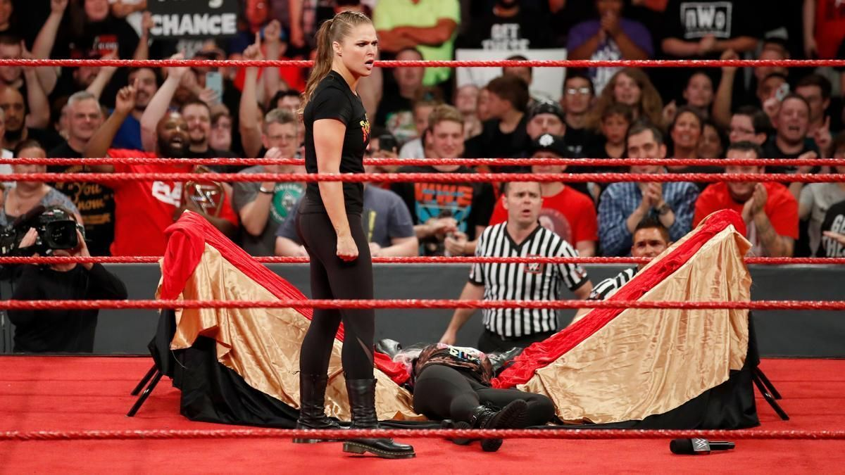 Monday Night Raw Results: Rousey snaps and gets