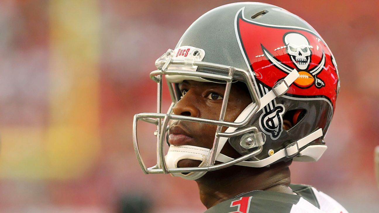 Buccaneers QB Jameis Winston said he is committed to the Bucs but wouldn't speculate Wednesday when asked if he felt they were committed to him beyond 2018.