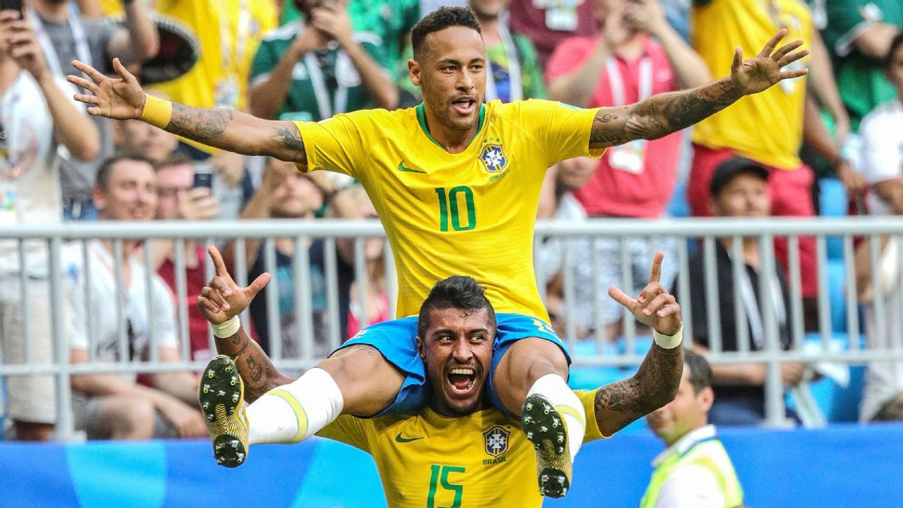 Neymar Delivered The Good And Bad As Brazil Cruised Past Mexico In Sport Bra Golden Nick Quality Last 16