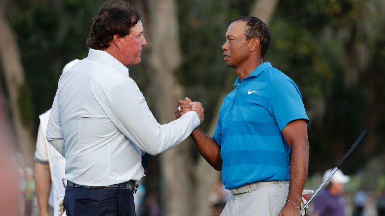 Event pairing Tiger Woods, Phil Mickelson set for Thanksgiving weekend