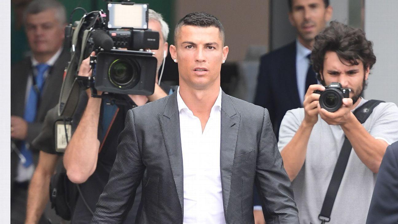 Cristiano Ronaldo Undergoes Medical Ahead Of Juventus