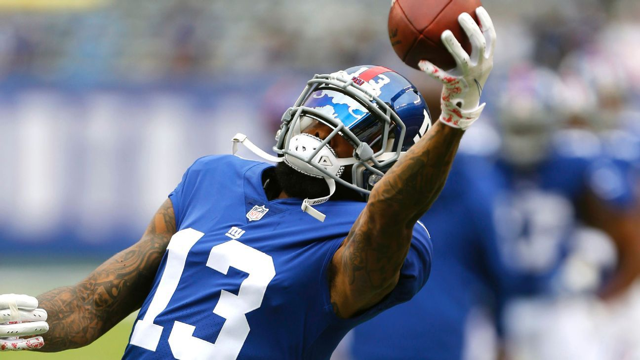 Odell Beckham Jr.'s agent has left the New York area with no deal in place after face-to-face meetings with the Giants last week, a source told ESPN's Josina Anderson.