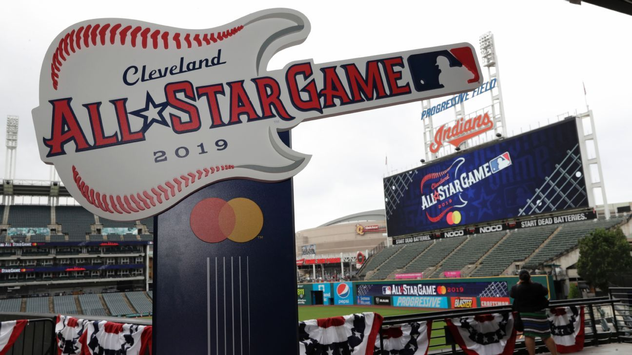 cleveland indians unveil logo for 2019 all star game