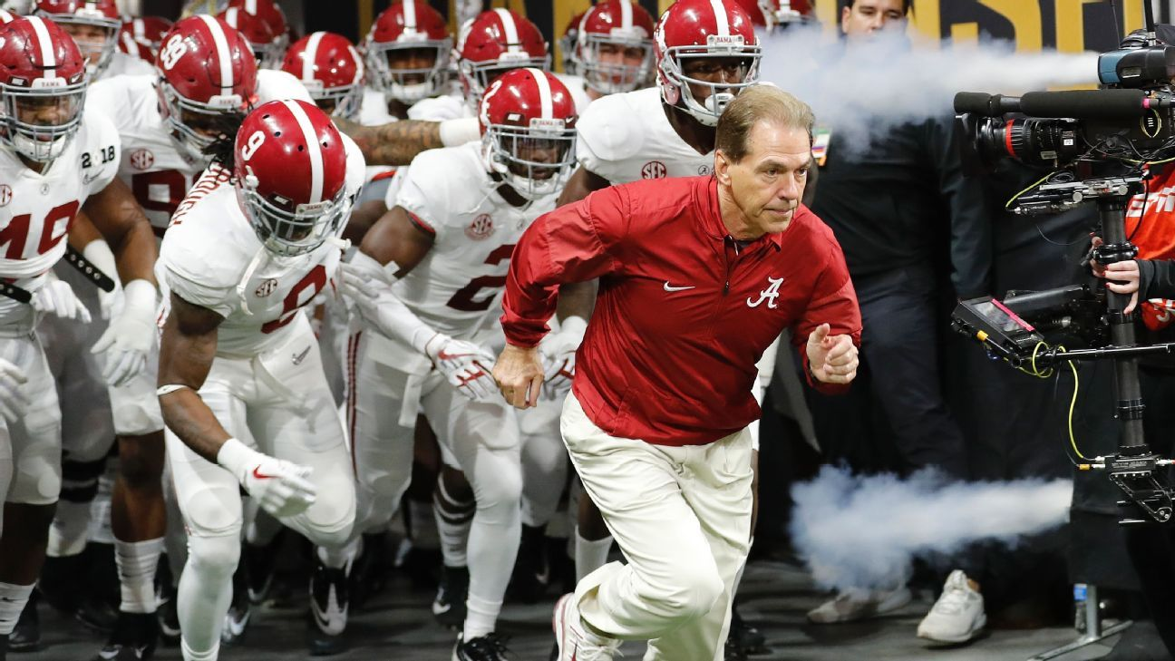 Alabama Crimson Tide No. 1 in preseason Associated Press Top 25