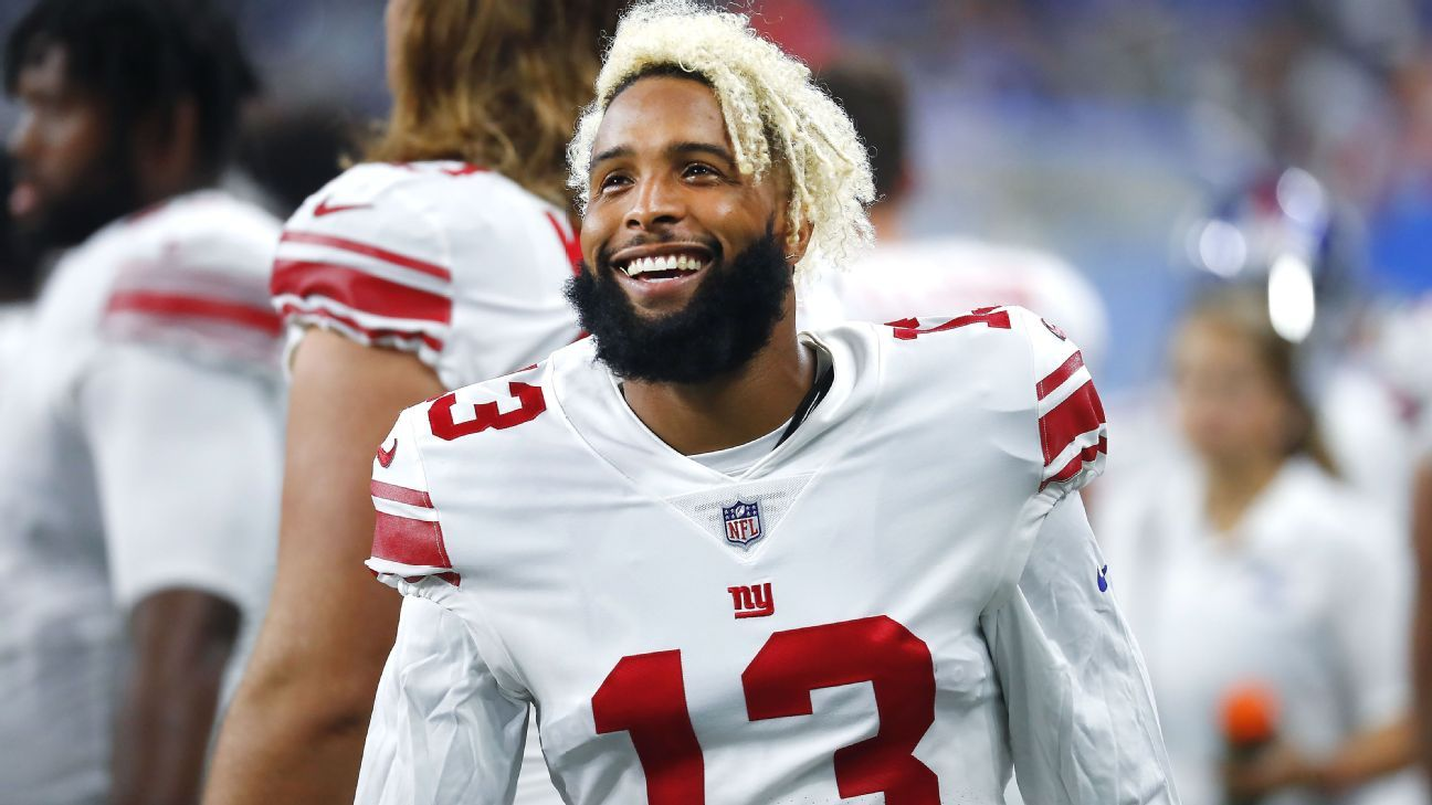 Odell Beckham Jr. agrees to record deal with Giants