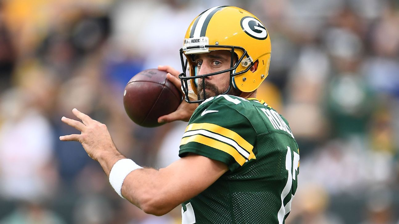 Green Bay Packers Aaron Rodgers Sign Record Extension