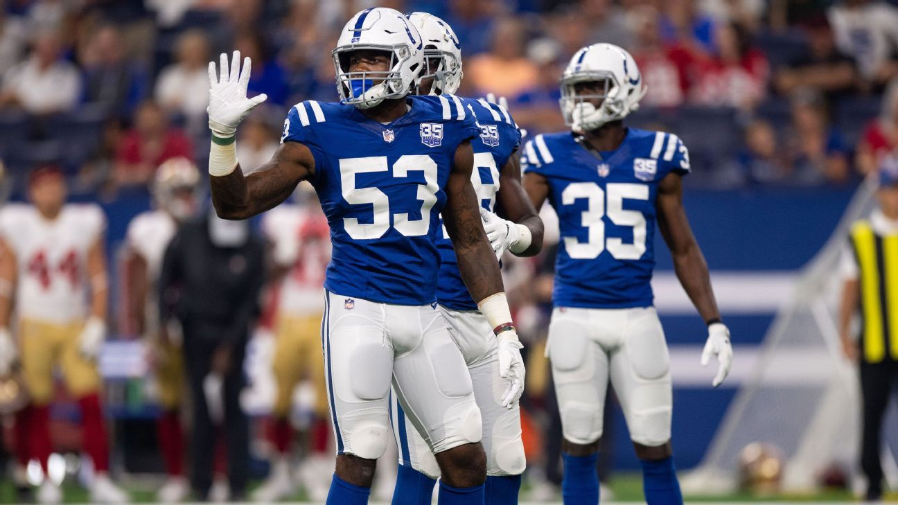 The rebuilding Colts are switching to a 4-3 defense using young players, and the predictable results should look familiar to their fans and star QB.