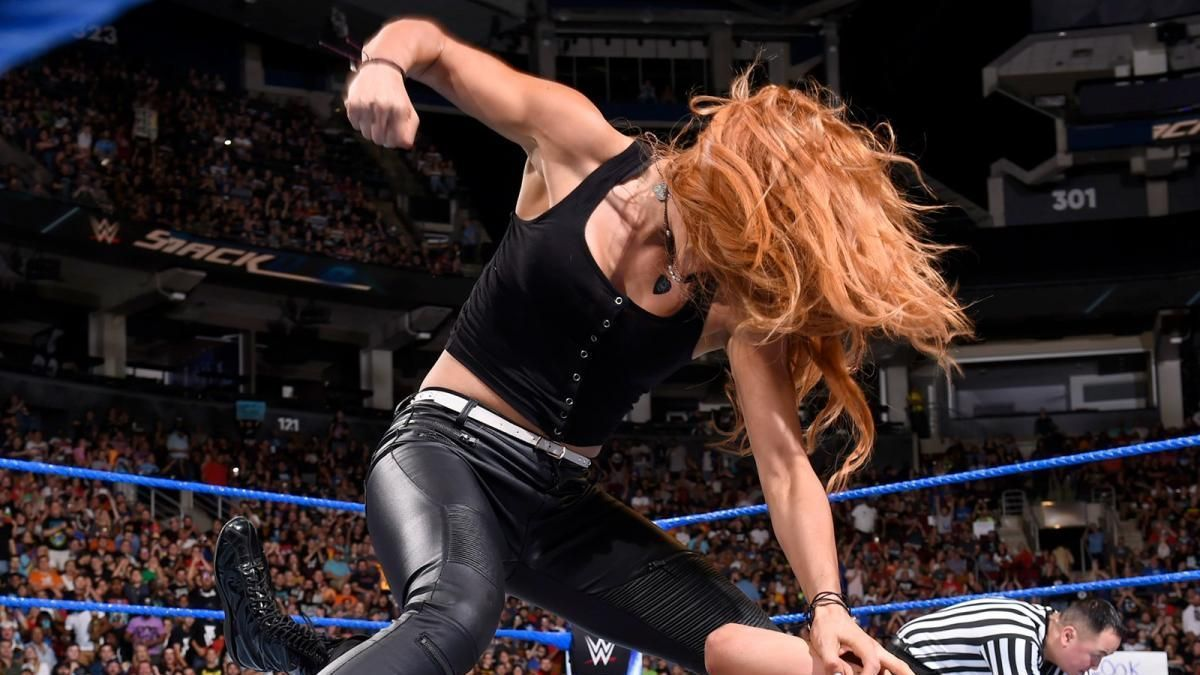 Smackdown Live Results August 29 Becky Lynch Attacks