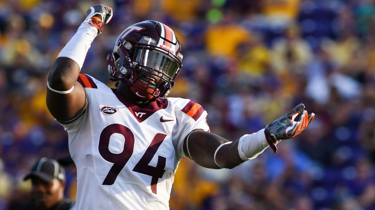 Virginia Tech dismisses Trevon Hill from team