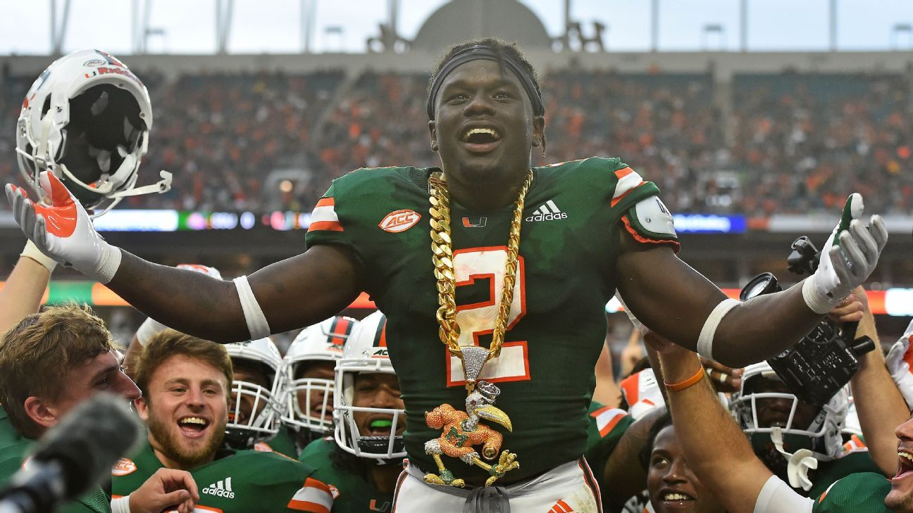 Miami unveils new turnover chain in Savannah State game