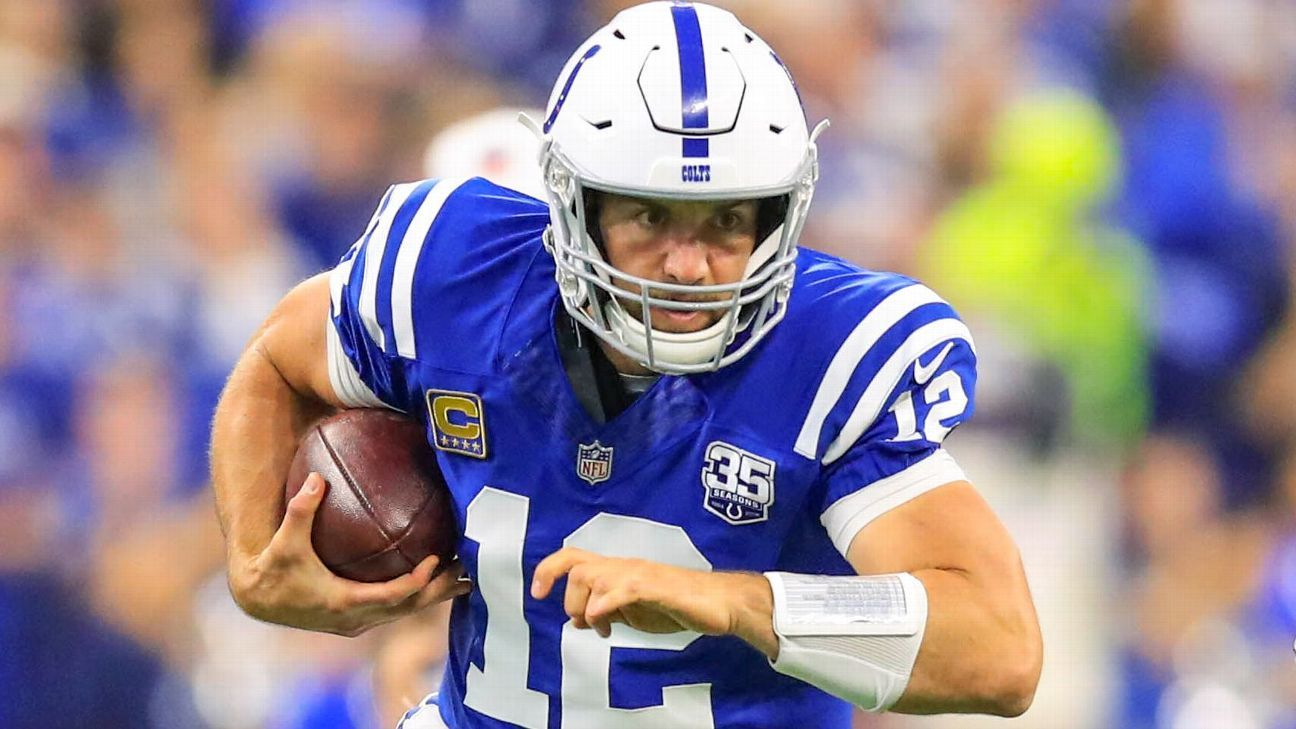 Andrew Luck made an impressive return in his first regular-season start in 20-plus months with 319 passing yards and two touchdowns, but Jack Doyle's late fumble spoiled a potential game-winning drive in the fourth quarter to put a damper on his night.