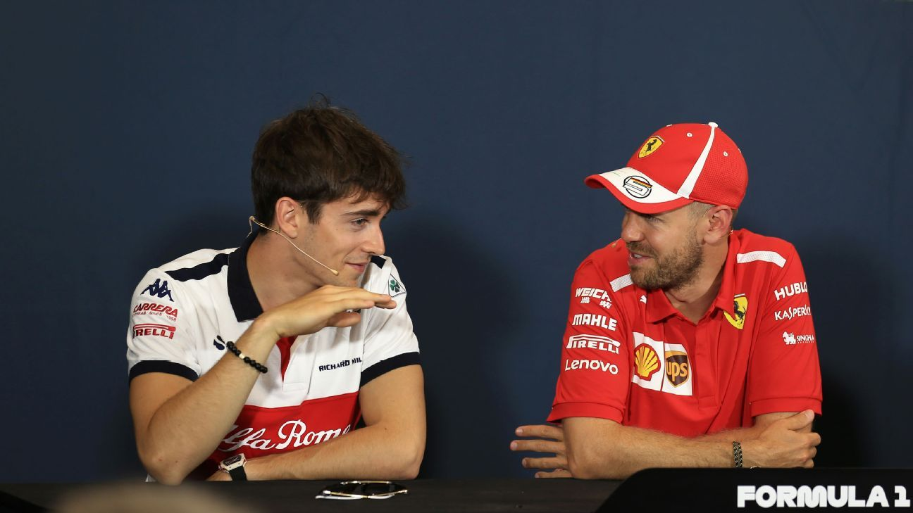 What Does Charles Leclerc U0026 39 S Elevation Mean For Sebastian Vettel  Ferrari And F1 In 2019