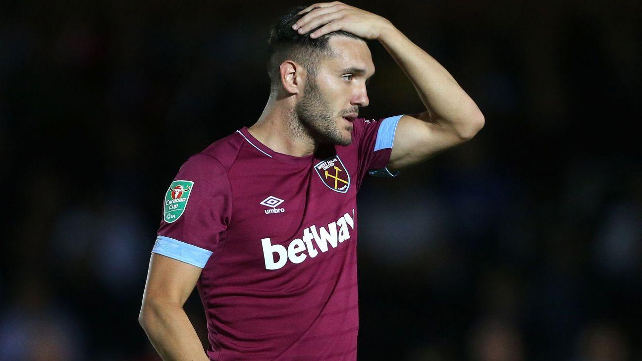 West Ham's Perez blasts 'false' row report