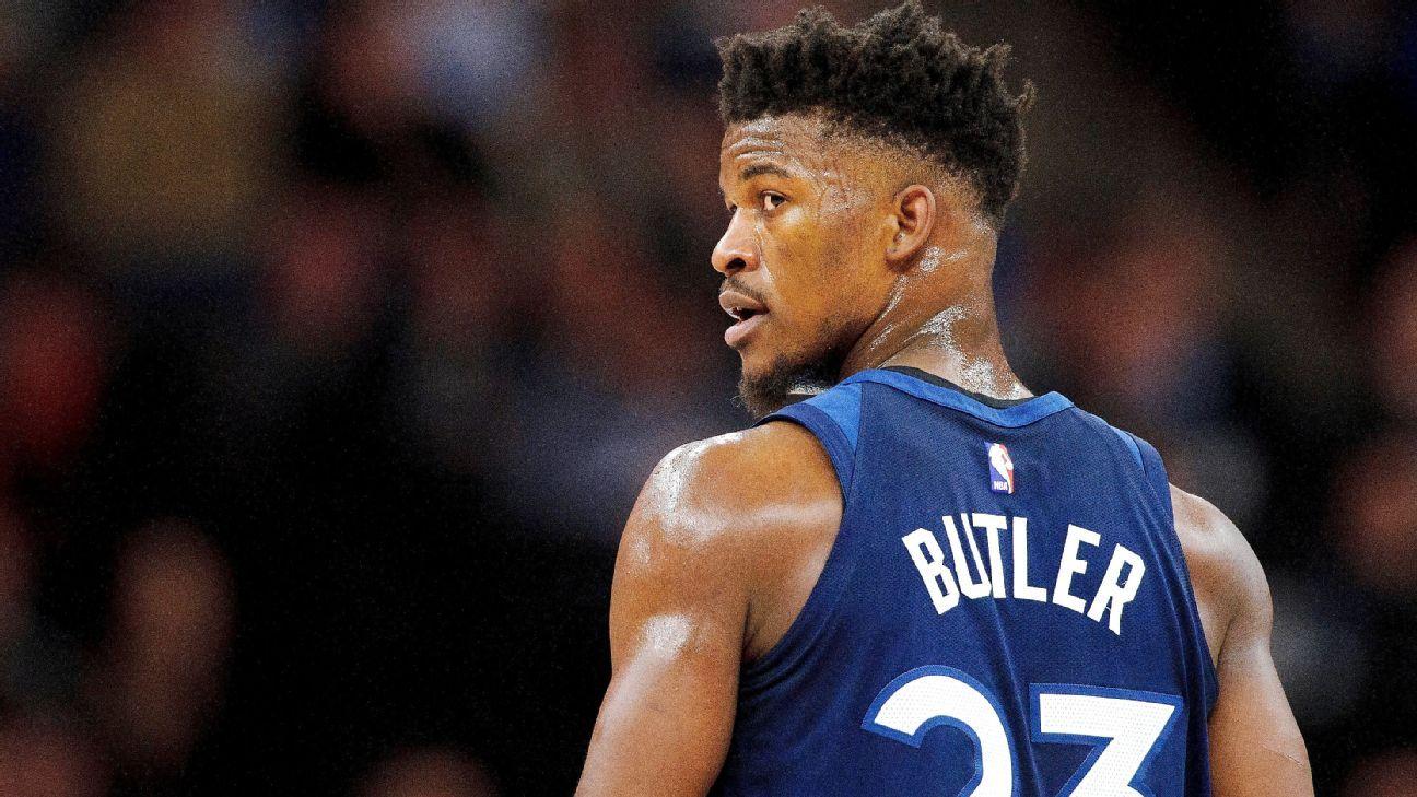 Minnesota Timberwolves rebuffing Jimmy Butler trade calls