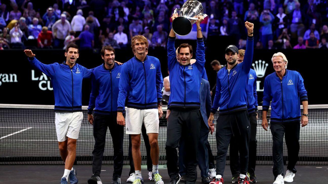 Roger Federer, Alexander Zverev lead Team Europe to Laver Cup victory