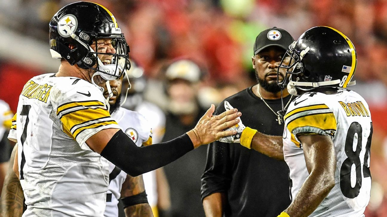 Antonio Brown: Connection with Ben Roethlisberger is like spotty Wi-Fi
