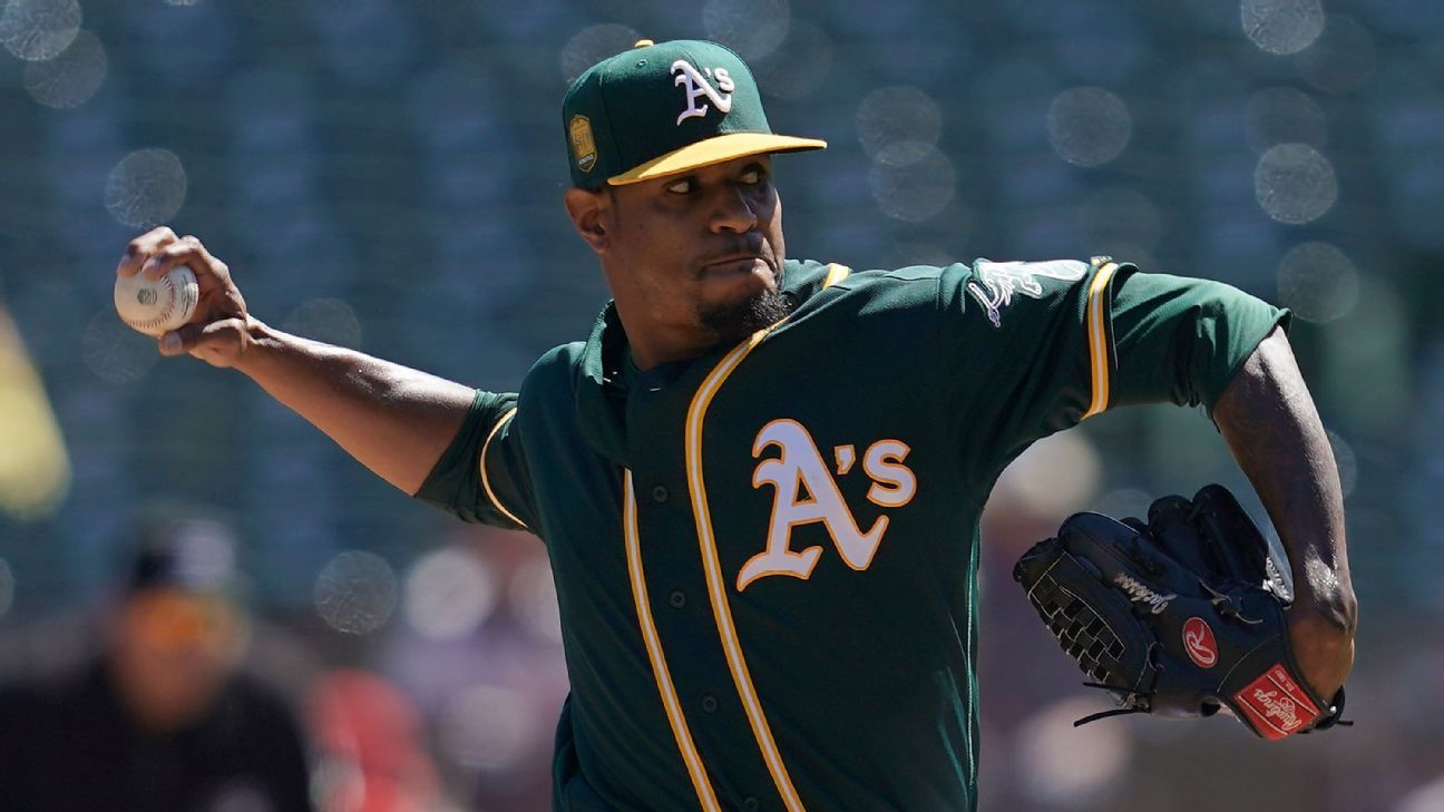 Edwin Jackson is only starting pitcher on Oakland Athletics wild-card roster