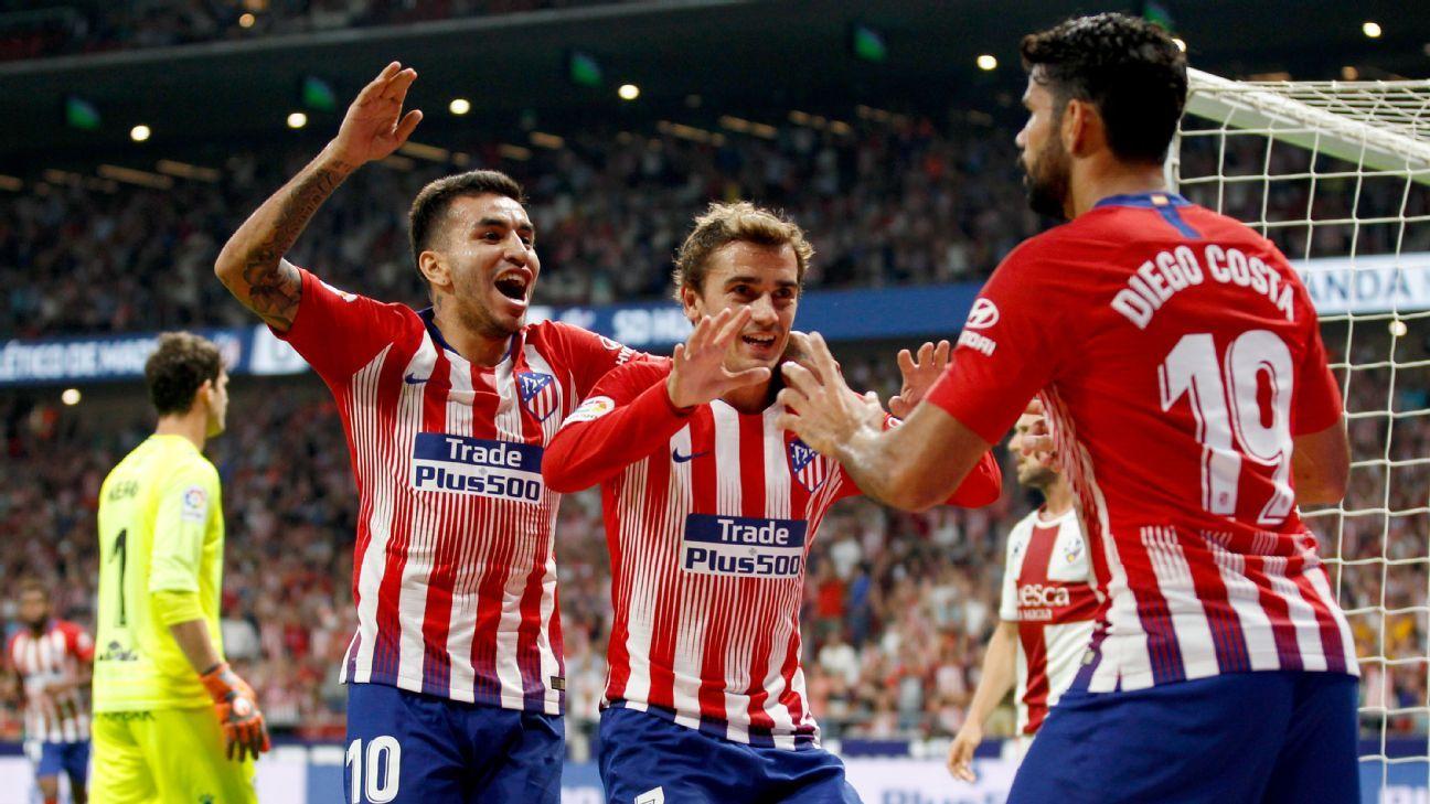 Atletico Madrid vs. Huesca - Football Match Report - September 25, 2018 - ESPN