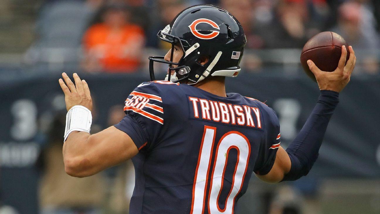 Mitchell Trubisky looks forward to first meeting with Tom Brady