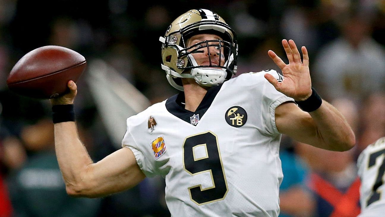 Now that one major NFL record is out of the way, it's time for the Saints and future Hall of Fame QB to focus on a title run while the getting is good.