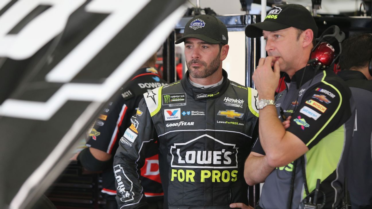 Johnson, crew chief Knaus to split after season