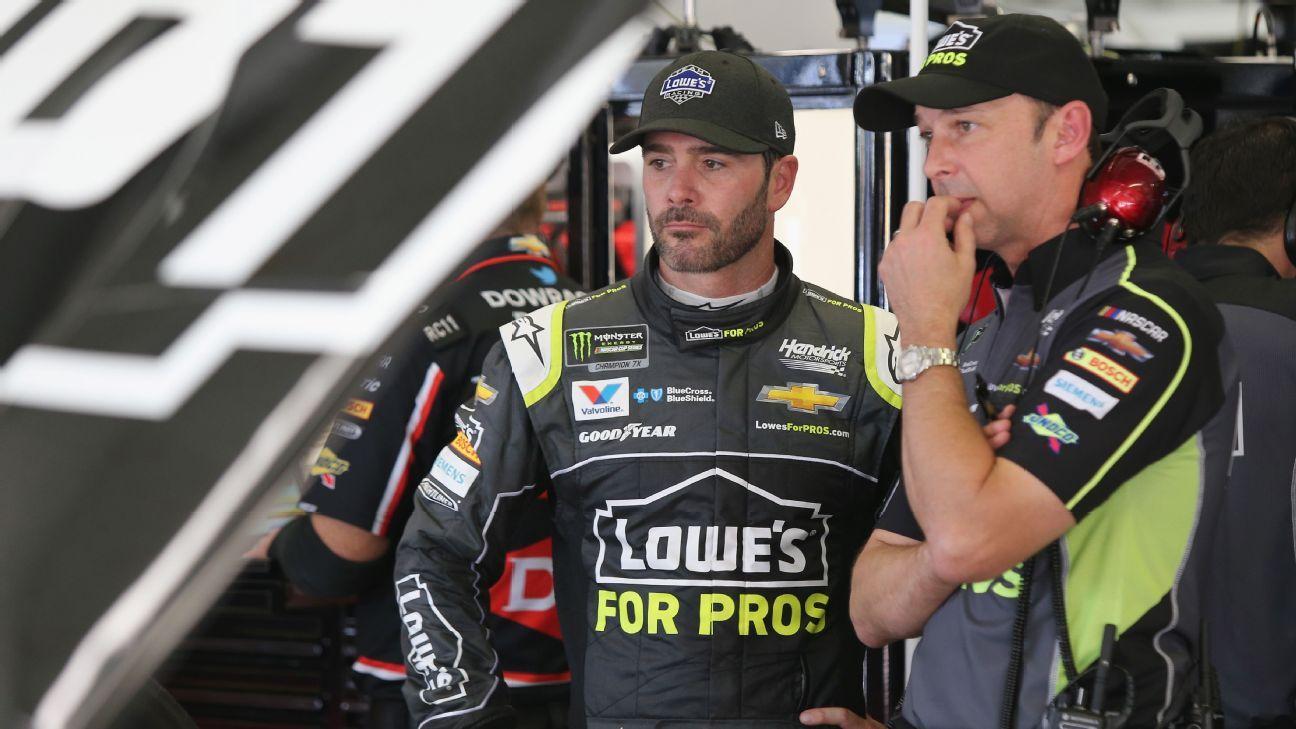 Johnson, crew chief Knaus to split after season