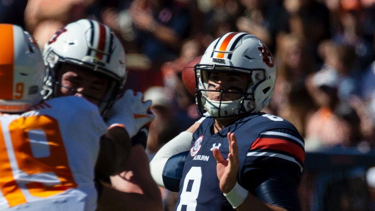 Jarrett Stidham remains Auburn's starting quarterback