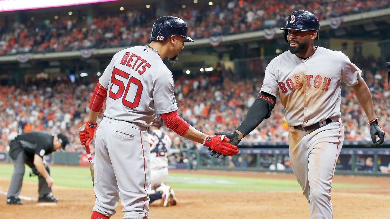 Red Sox, Braves lead with 3 Gold Glove winners