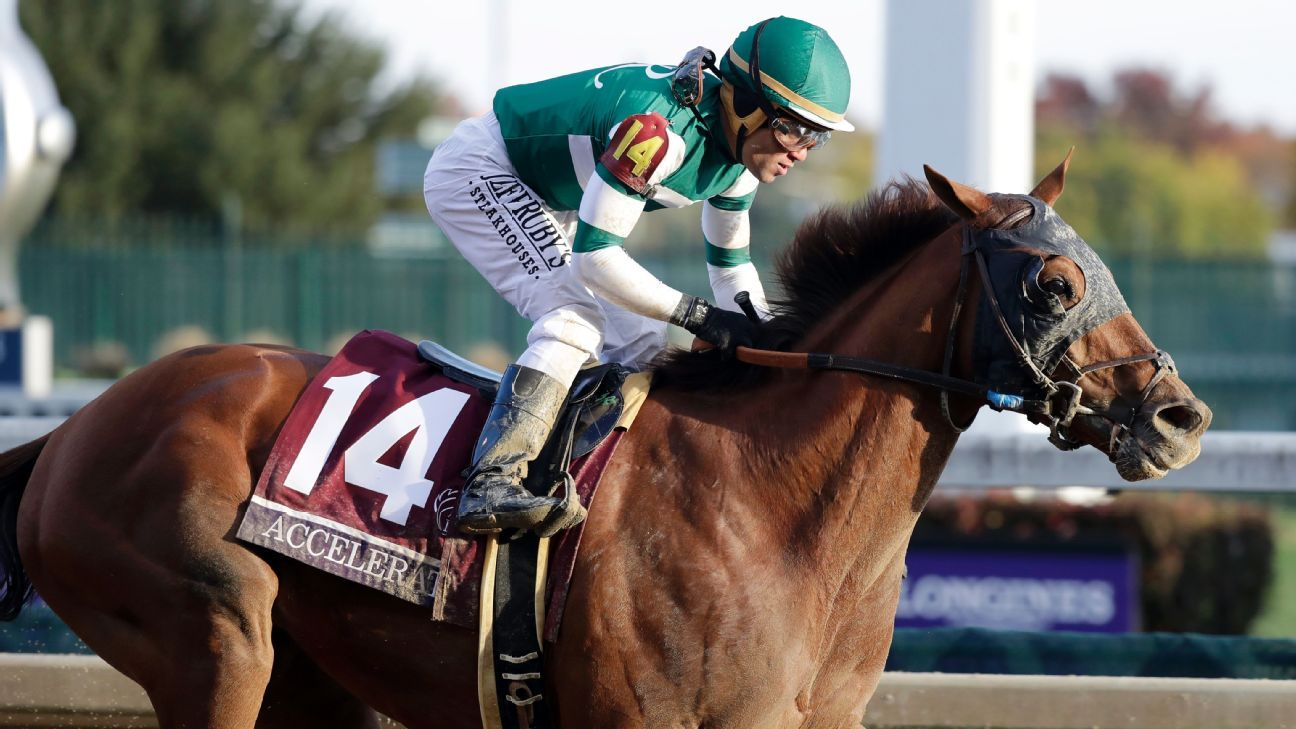 Accelerate S Breeders Cup Win Ends Drought For Trainer