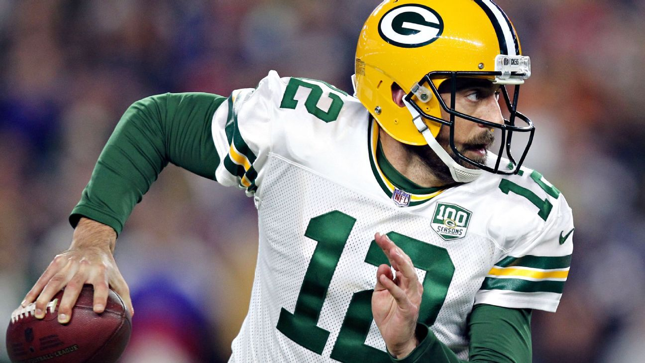 Packers quarterback Aaron Rodgers, who grew up in Chico, California, is donating $1 million to victims of the wildfires ravaging his home state.