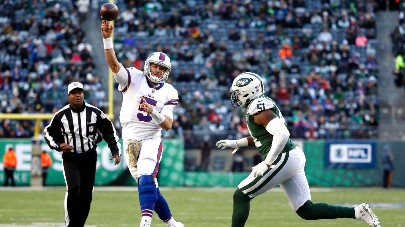 Bills not certain of starting QB after Matt Barkley beats Jets