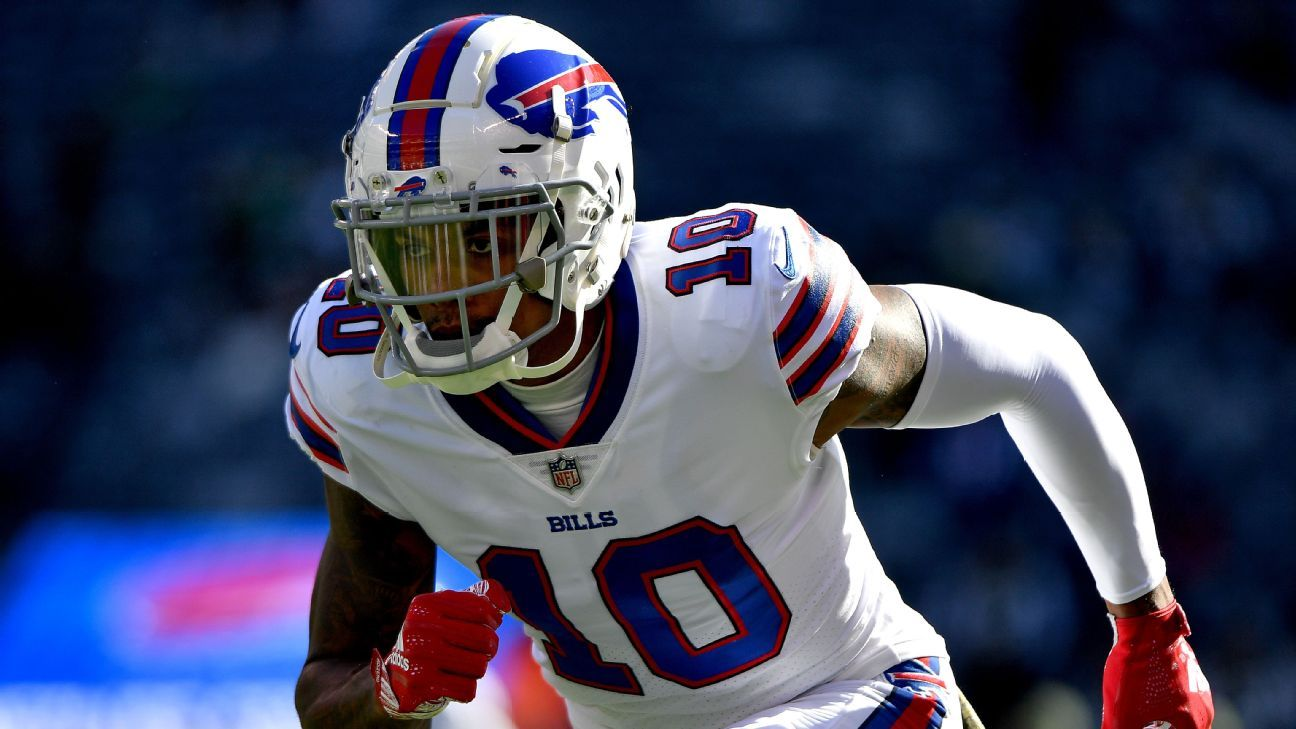 Wide receiver Terrelle Pryor has been waived by the Bills, the team announced Tuesday.
