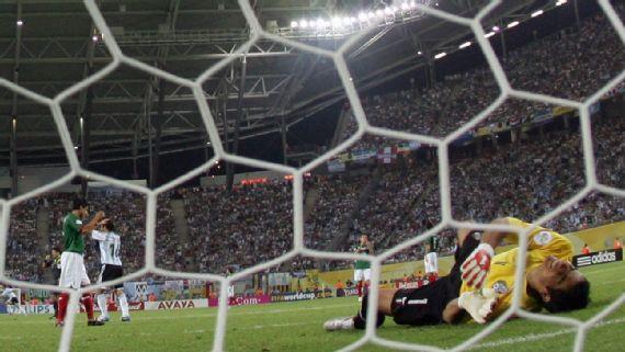 Las cinco derrotas más dolorosas del Tri contra Argentina
