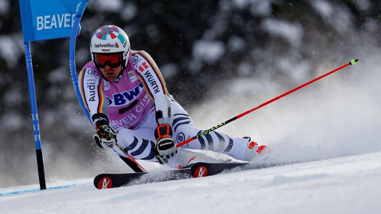 Luitz hangs on to win World Cup giant slalom