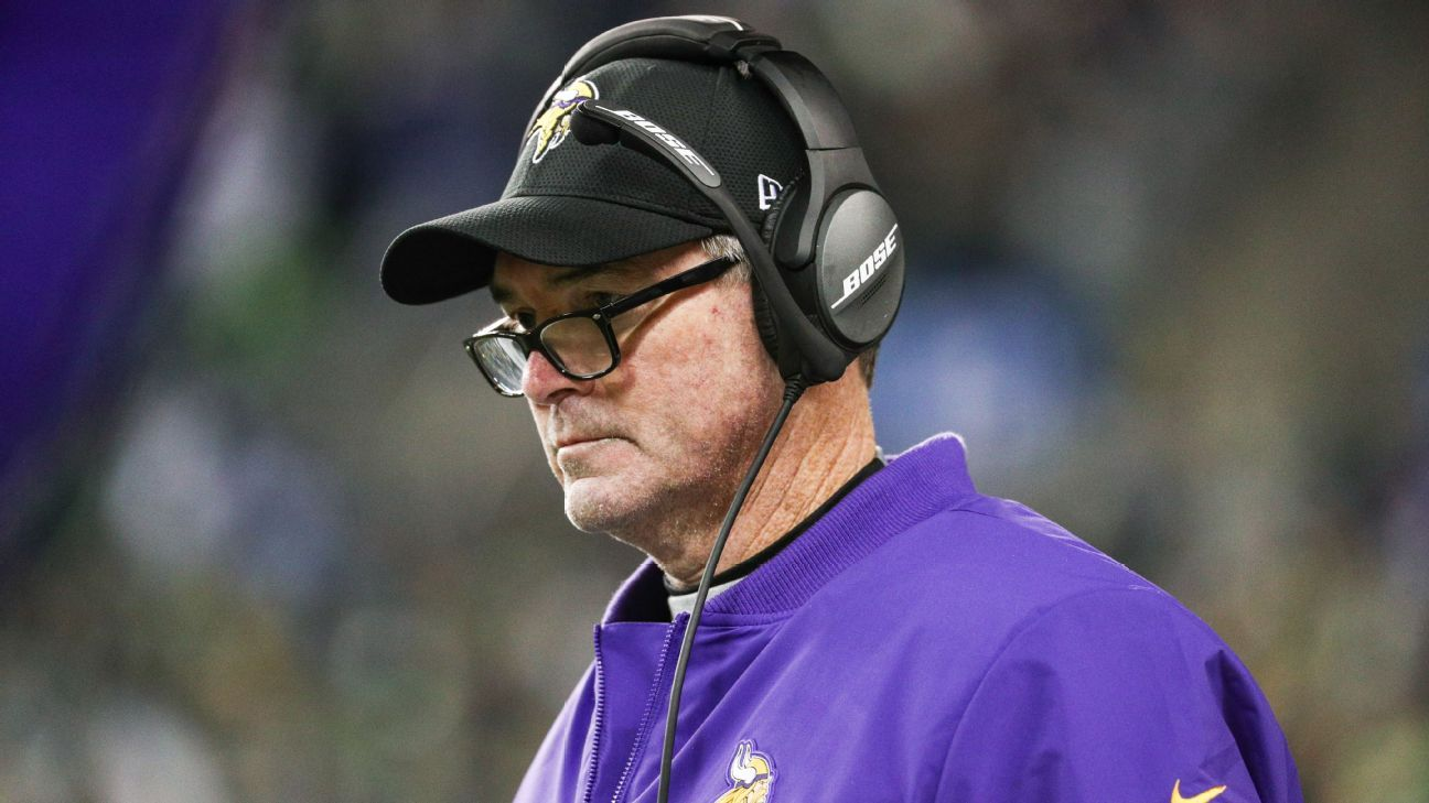 Vikings coach Mike Zimmer said Tuesday he'll assist Kevin Stefanski in his new offensive coordinator role.