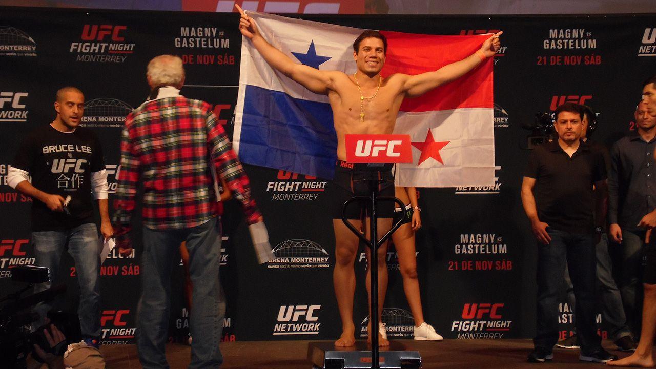 Ceremonia del pesaje: UFC Monterrey