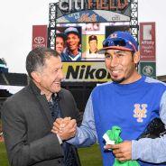 Juan Carlos Osorio en el estadio de los Mets