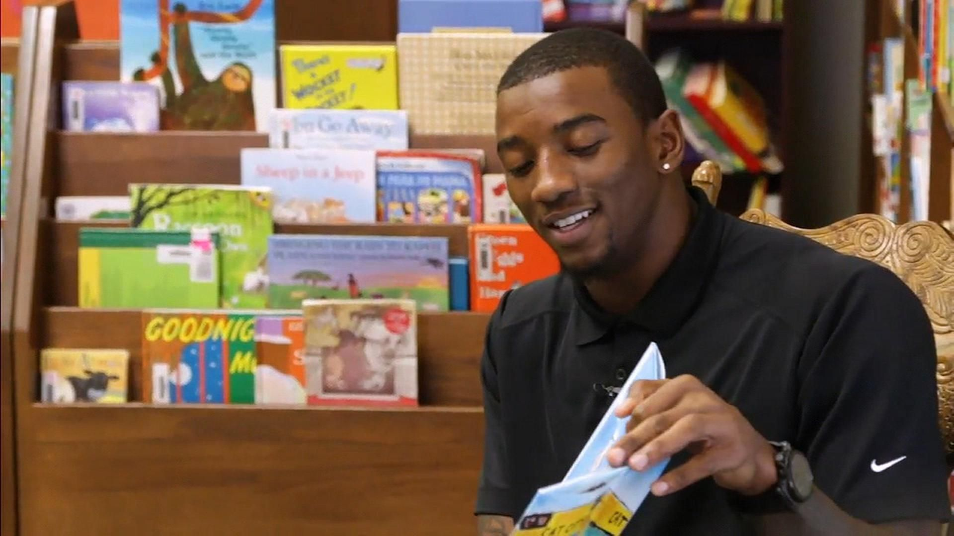 UGA WR's love of reading inspires others