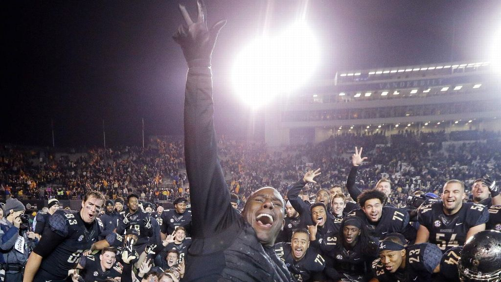 Derek Mason ecstatic about Commodores' bowl eligibility