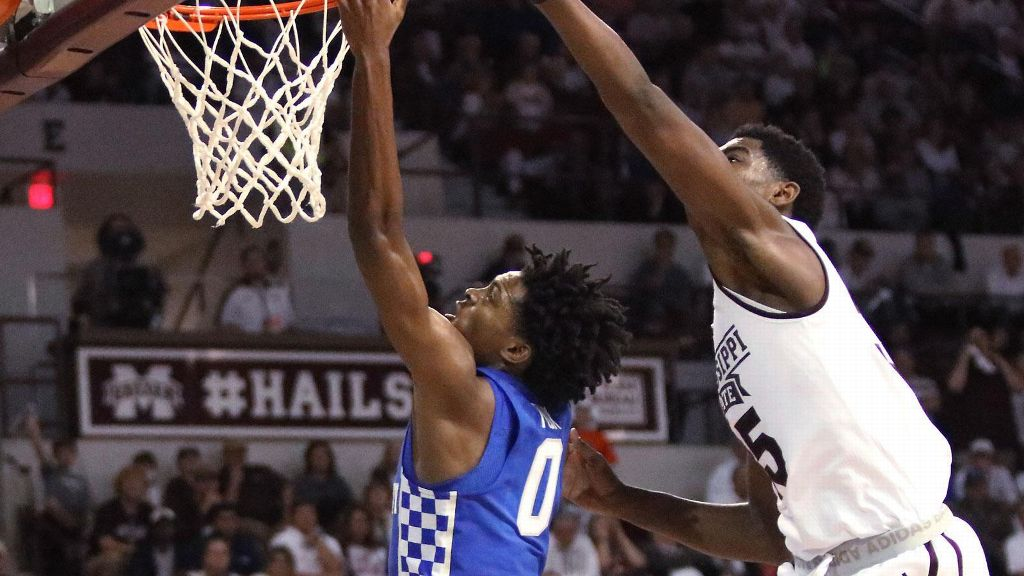No. 5 Kentucky defeats Mississippi State 88-81
